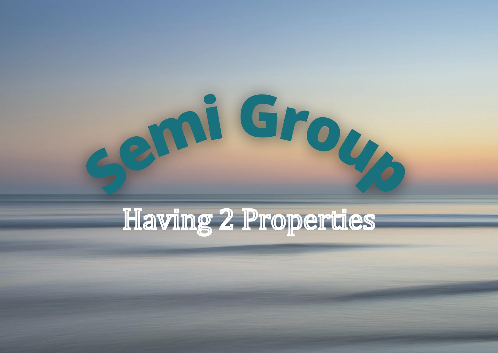 Semi Group